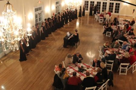 Holiday party at Women's Club of Portsmouth